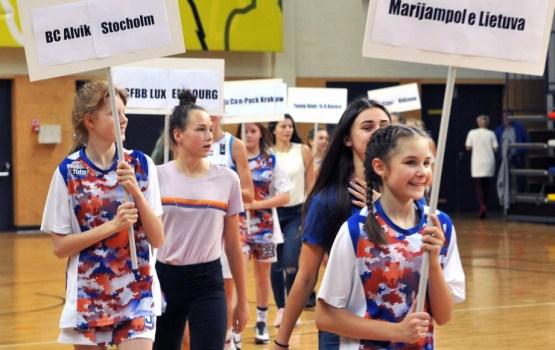Daugavpilī notika Eiropas Jaunatnes basketbola līga, U-18 grupā