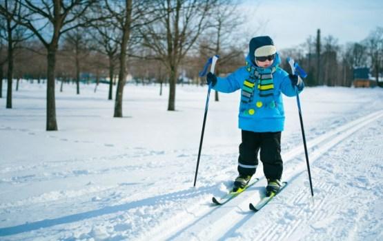 Bezmaksas slēpošanas nodarbības bērniem
