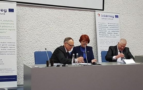 Pārrobežu sadarbības projekta noslēguma konference