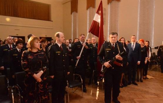 Aizvadīts Valsts policijas simtgades svinīgais pasākums Latgales reģionā