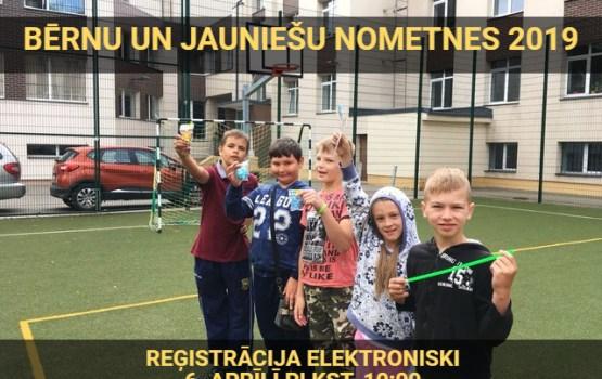 Reģistrācija uz bērnu un jauniešu vasaras nometnēm sāksies 6. aprīlī