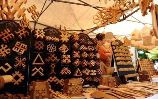 Janvāra tirdziņš Rīgas ielā