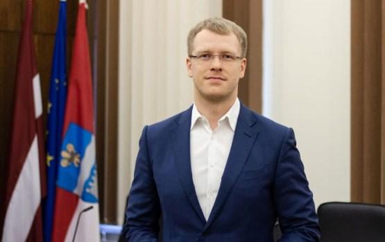 Par Daugavpils pilsētas domes priekšsēdētaju ievēlēts Andrejs Elksniņš