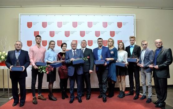 """Sadalītas Daugavpils novada konkursa """"Gada balva sportā 2018"""" balvas"""