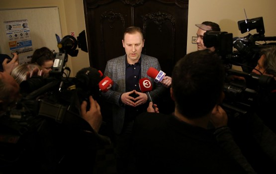 """KPV LV"" valde lemj izslēgt no partijas Gobzemu"
