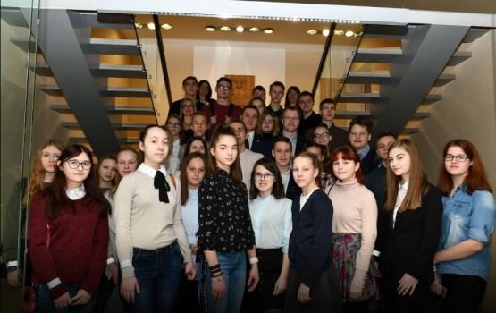 Daugavpils domē ēnoja vairāki desmiti jauniešu