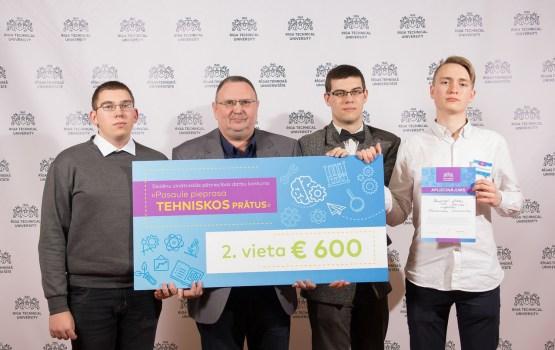 Skolēnu komanda no Daugavpils uzvar RTU zinātniskās pētniecības darbu konkursā