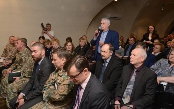 Daugavpilī viesojās Aizsardzības ministrs Artis Pabriks