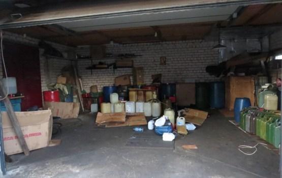 Daugavpilī likvidē nelikumīgu degvielas uzpildes vietu