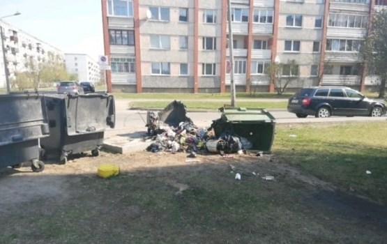 Par katru sadedzināto atkritumu konteineru tiek uzsākta krimināllieta