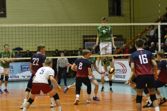 Latvijas volejbolisti Daugavpilī iekļūst 2020. gada Eiropas U-18 čempionāta otrajā atlases kārtā