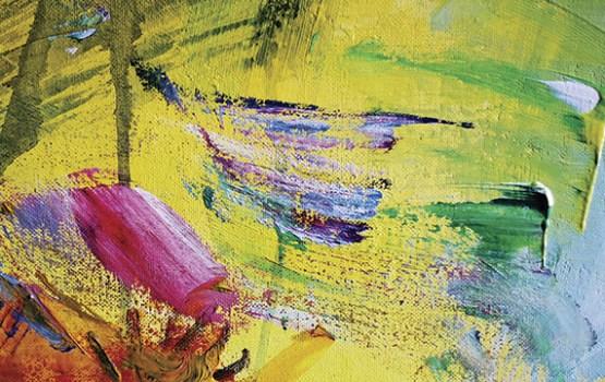 """Skats no augšas jeb Aivja Pīzeļa gleznu izstāde """"Lidojums"""""""